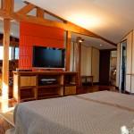 Palm Hotel Antananarivo : la suite avec grand écran TV